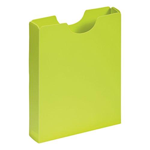 PAGNA Heftbox DIN A4, Hochformat, aus PP, lindgrün