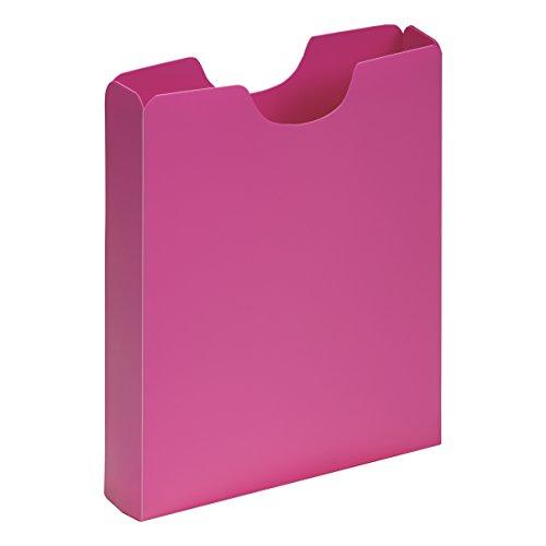 PAGNA Heftbox DIN A4, Hochformat, aus PP, dunkelrosa