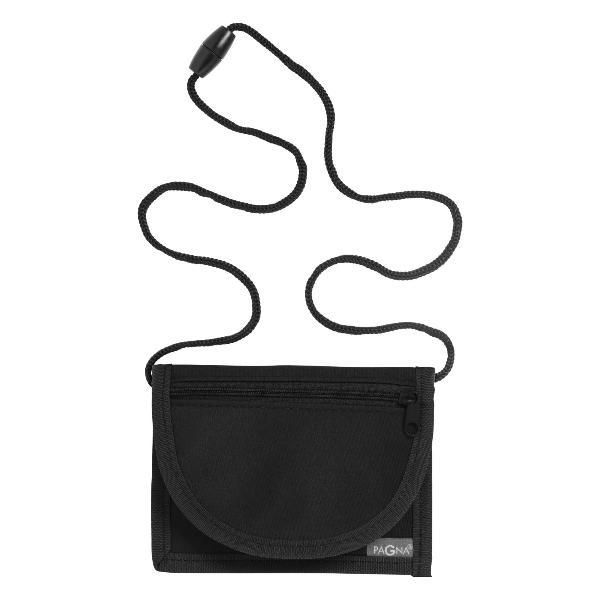 PAGNA Brustbeutel, aus Nylon, schwarz