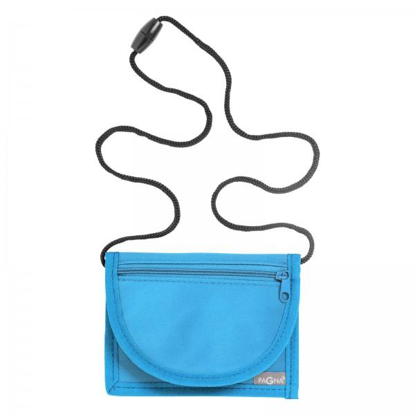 PAGNA Brustbeutel, aus Nylon, hellblau