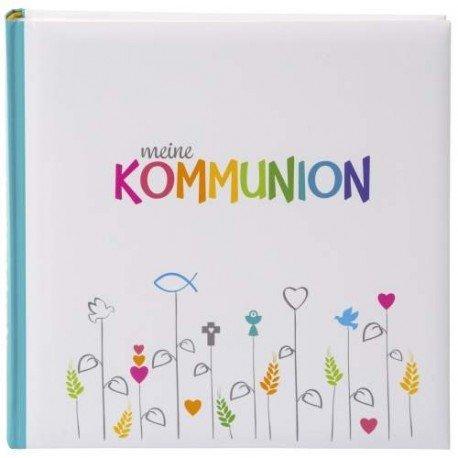 goldbuch Kommunionsalbum Regenbogen, 250 x 250 mm
