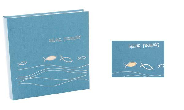 goldbuch Firmungsalbum Ichthys, 250 x 250 mm, 60 Seiten