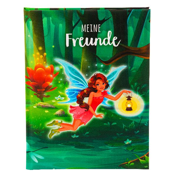 Freundebuch A5 Kleine Waldfee
