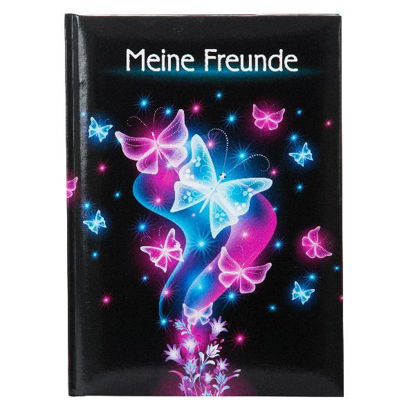 Goldbuch Freundebuch A5 Schmetterling