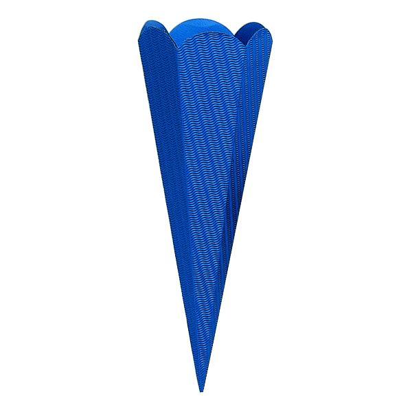 Bastelschultüte 68cm d.blau