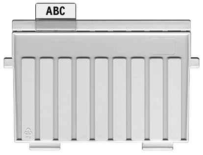 Stützplatte A7 quer  l.gr