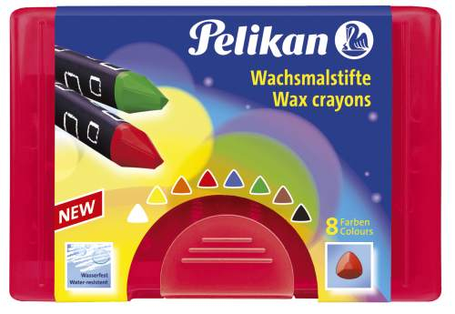 Pelikan Wachsmaler dick 665/8 D, dreieckig, wasserfest