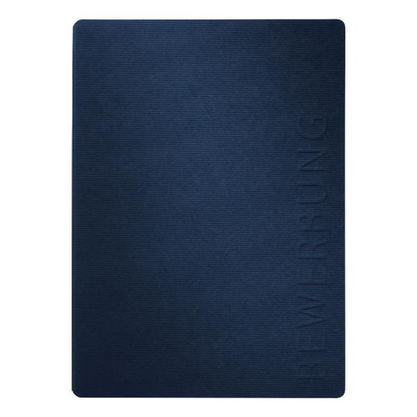 #5xBewerbungsmappe Stream blau