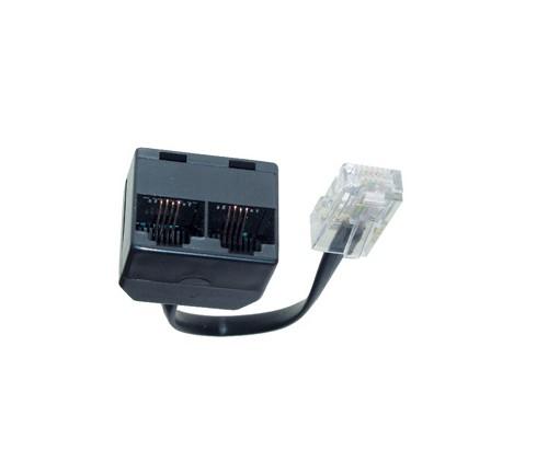 ISDN 2-fach Verteiler mit Widerstand