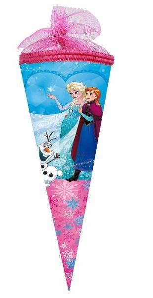 Geschwister Schultüte 35cm rund Disney Frozen verstärker...