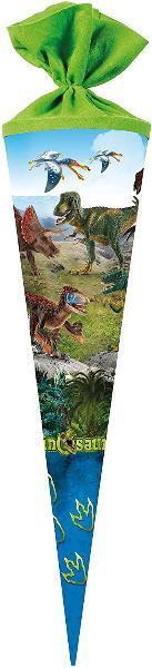 Schultüte 70cm rund Schleich - Dinosaurs Filzverschluss