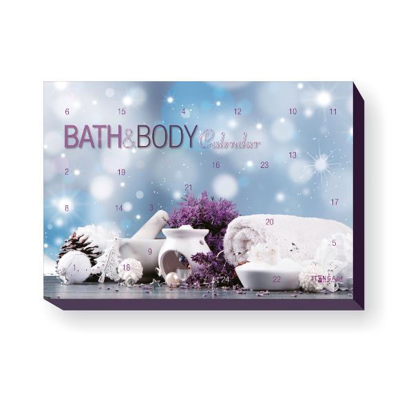 itenga Adventkalender Bath & Body Motiv Spa / Lavendel