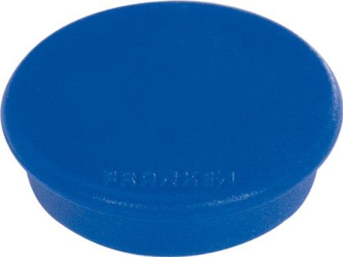 FRANKEN Haftmagnet, Haftkraft: 100 g, Durchm. 13 mm, blau