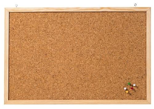 Korkpinntafel 40x60cm im Holzrahmen