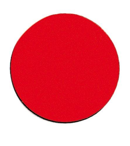 FRANKEN Magnetsymbol Kreis, Durchmesser: 10 mm, rot