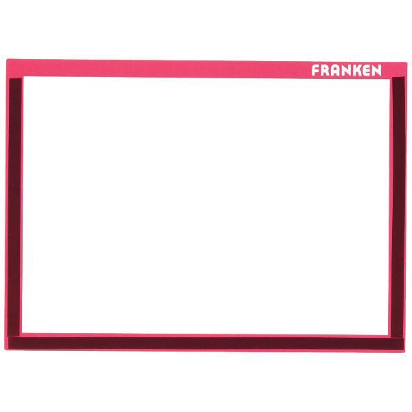 FRANKEN Magnet-Tasche FRAME IT X-tra!Line, DIN A5, rot
