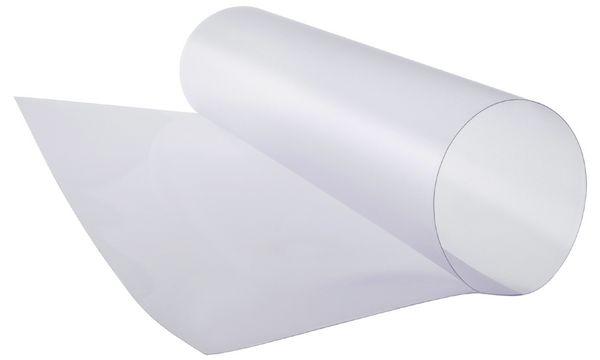 FRANKEN Ersatzfolie für Plakatständer, DIN A4, transparent