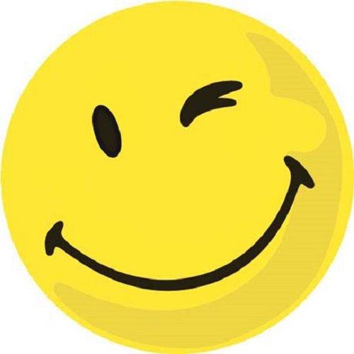 FRANKEN Wertungssymbole positiv, selbstklebend, gelb