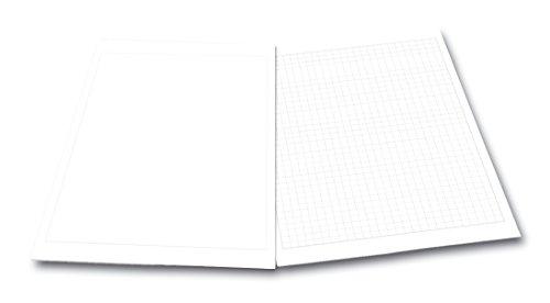 FRANKEN Flipchart-Block U-Act! Line, kariert, 580 x 830 mm