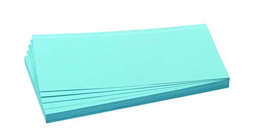 FRANKEN Moderationskarte, 95 x 205 mm, selbsthaftend, blau