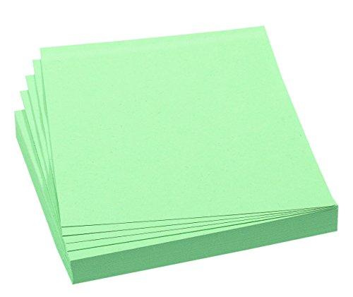 FRANKEN Moderationskarte, 95 x 105 mm, selbsthaftend, grün