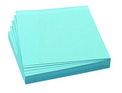 FRANKEN Moderationskarte, 95 x 105 mm, selbsthaftend, blau