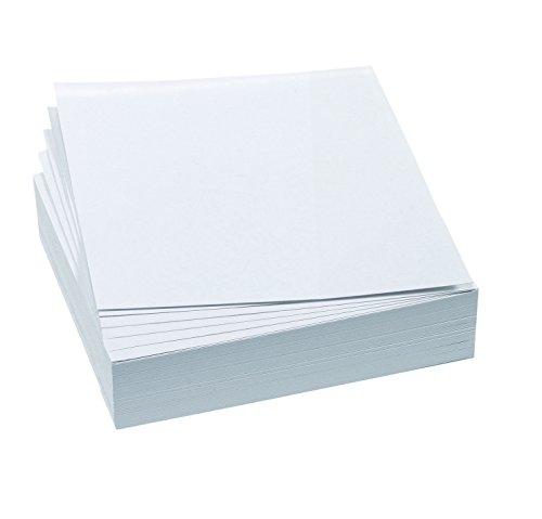 FRANKEN Moderationskarte, 95 x 105 mm, selbsthaftend, weiß