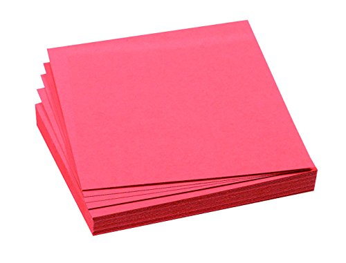 FRANKEN Moderationskarte, 95 x 105 mm, selbsthaftend, rot