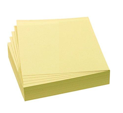 FRANKEN Moderationskarte, 95 x 105 mm, selbsthaftend, gelb