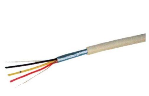 shiverpeaks BASIC-S Telefonkabel, grau, 100 m, 4-adrig