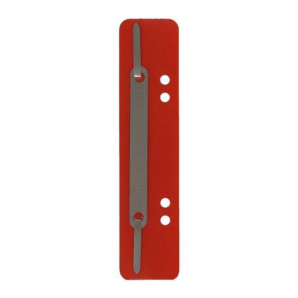 Heftstreifen PP 34x150mm 25ST rot