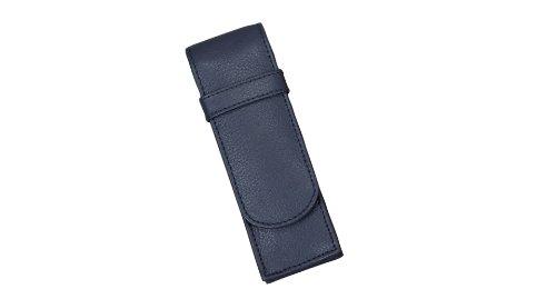 Alassio Schreibgeräte-Etui, für 2 Schreibgeräte, blau