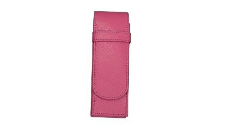Alassio Schreibgeräte-Etui, für 2 Schreibgeräte, rosa
