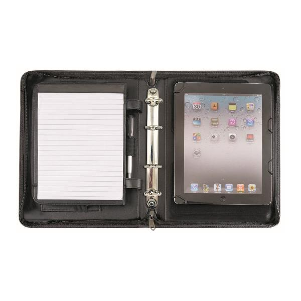 Alassio Tablet-PC Organizer PIEMONTE, DIN A5, schwarz