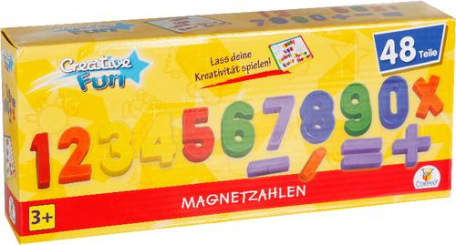 Creathek Magnet Zahlen & Zeichen 48-teilig
