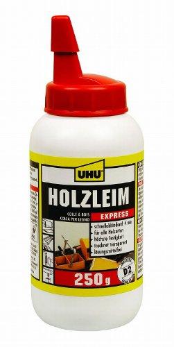 UHU Holzleim Express D2, lösemittelfrei, 250 g Flasche