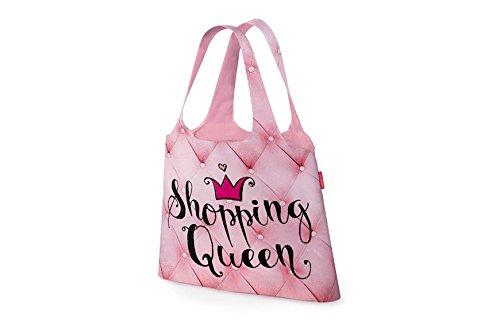 Einkaufstasche Für Dich Motiv Shopping Queen zusammengef...