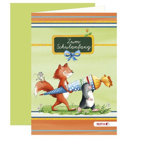 ROTH Einladungskarte Flinki & Schlau