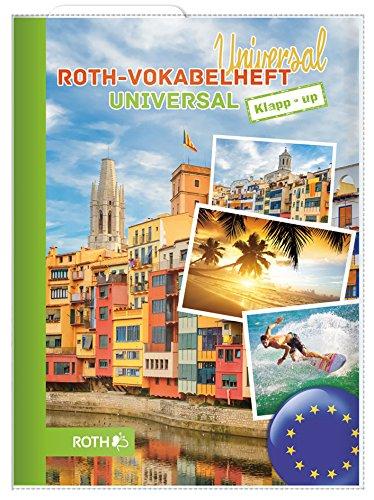 ROTH Vokabelheft Klapp-up Universal Surfer, DIN A5