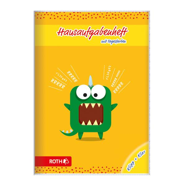 ROTH Grundschul-Hausaufgabenheft Klipp+Klar Zahlenmonster