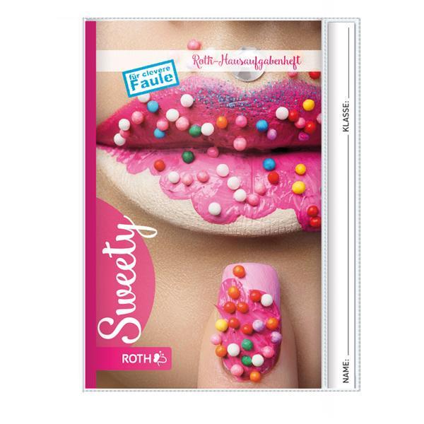 ROTH Hausaufgabenheft Teens Sweety, DIN A5
