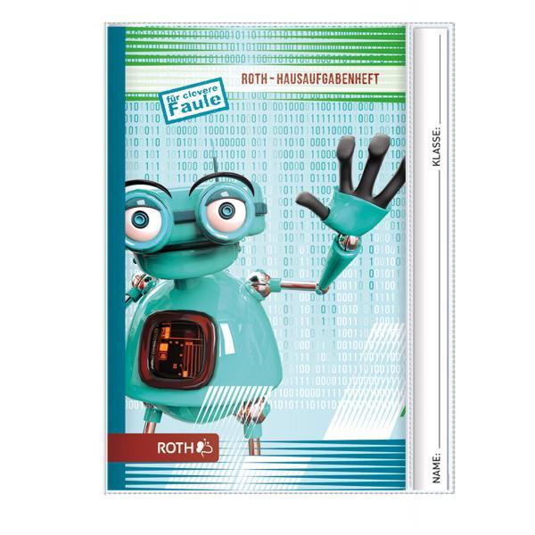 ROTH Hausaufgabenheft Teens Roboter, DIN A5