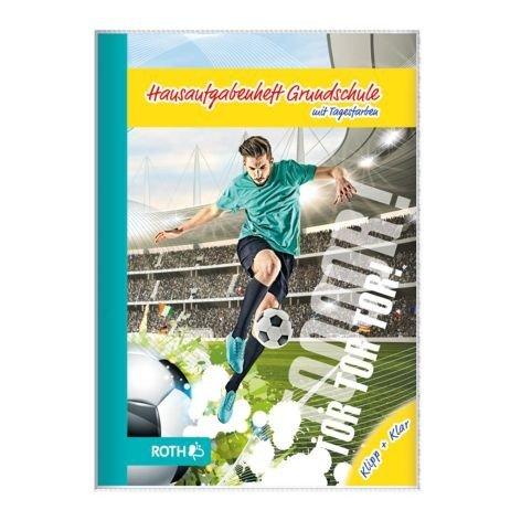ROTH Grundschul-Hausaufgabenheft Klipp+Klar Fußballstar