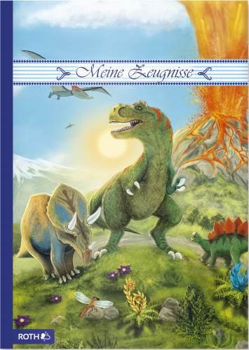 R0TH Zeugnismappe T-Rex, DIN A4