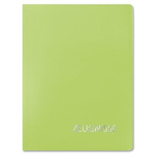 ROTH Zeugnismappe Basic, aus PP, DIN A4, grün