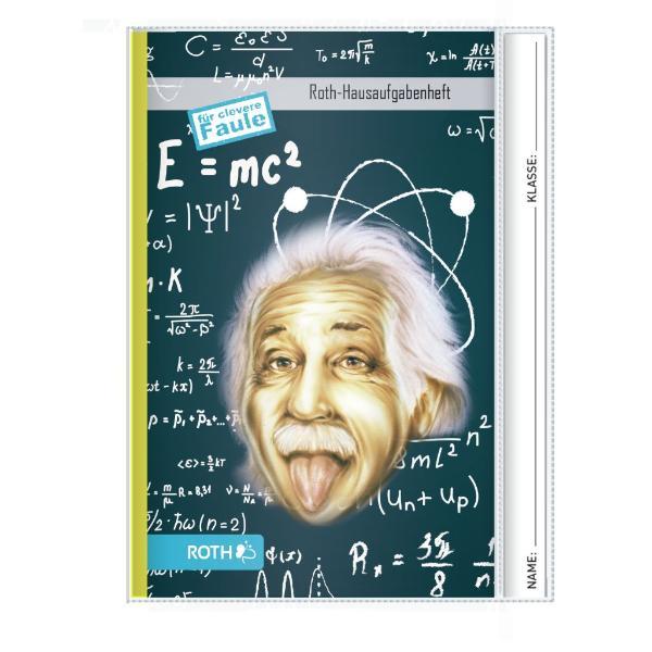 ROTH Hausaufgabenheft Teens für clevere Faule Einstein