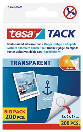 tesa TACK Klebepads Big Pack, transparent