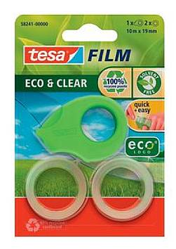 tesa ecoLogo Mini Abroller, inkl. 2 Klebefilm tesa Eco&C...