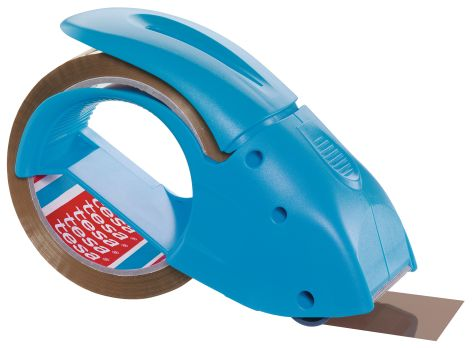 tesapack Handabroller pack n go, blau, bestückt