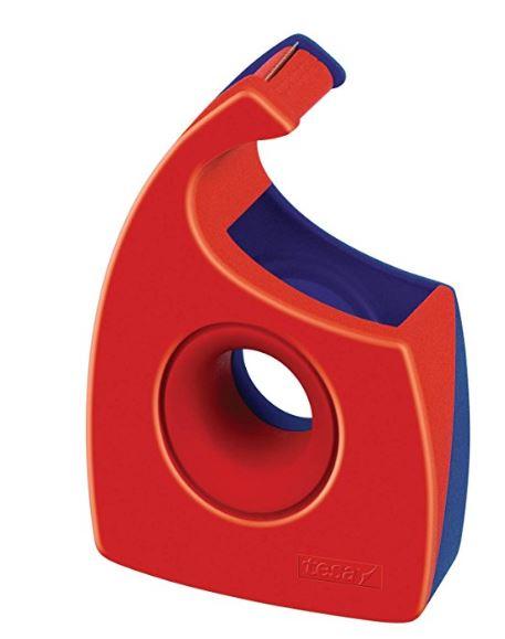 tesa Easy Cut Handabroller, rot/blau, unbestückt